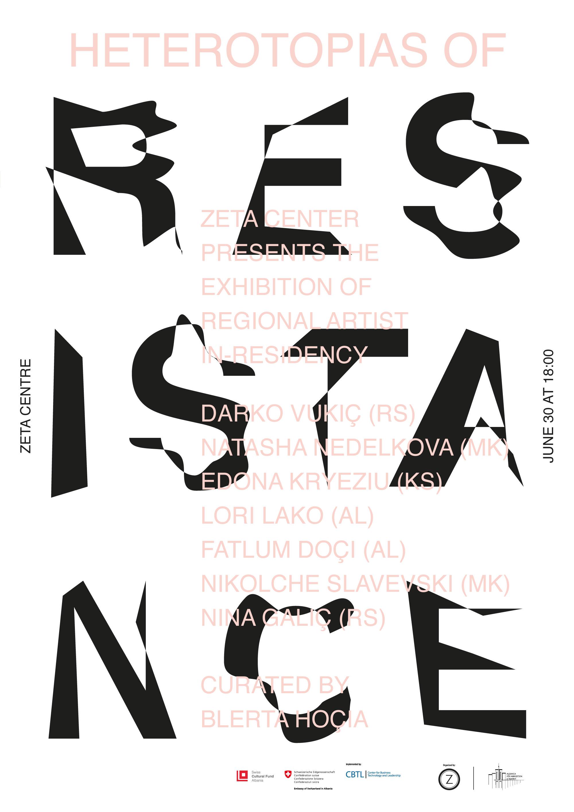 HETEROTOPITË E REZISTENCËS | Ekspozitë e Programit të Rezidencës Rajonale për Artistët në Tiranë