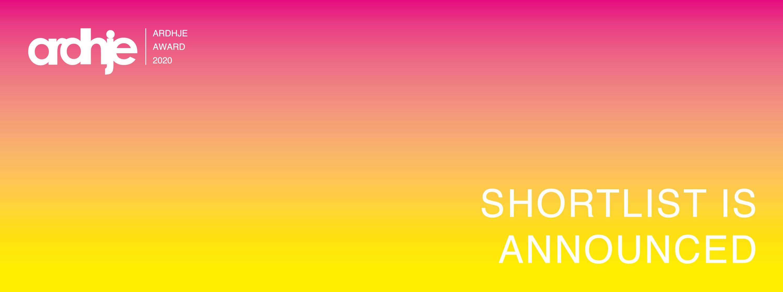 ARDHJE Award 2020 — artists shortlist
